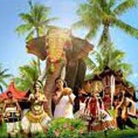 Cochin - Munnar - Thekkady - Alleppy - Kovolam - Trivanduram
