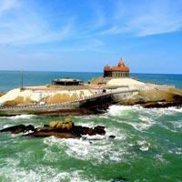 Thrissur - kaladi - Munnar - Alleppey - Trivandrum - Kanyakumari