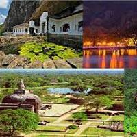 Sigiriya - Dambulla - Anuradhapura - Polonnaruwa - Kandy