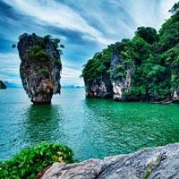 Singapore - Sentosa Island - Phuket - Phi Phi Islands - Phuket - Bangkok