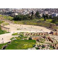 Amman - Umm Qais - Jerash - Ajloun - Madaba - Kerak - Petra - Wadi Rum