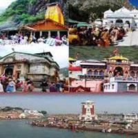 Haridwar - Barkot - Syanachatti - Barkot - Syanachatti - Yamunotri -Uttarkashi - Gangotri - Uttarkashi - Devprayag - Kirtinagar