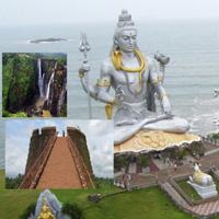 Bangalore - Mysore - Mangalore - Udupi - Kollur - Hassan - Bangalore