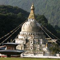 Paro - Thimphu - Punakha - Wangdi - Trongsa - Bumthang - Tashi Gang - Mongar - Lhuntse - Guwahati