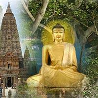 Delhi - Calcutta - Patna - Nalanda - Rajgir - Bodhgaya - Varanasi - Kushinagar - Lumbini - Balrampur - Lucknow - Agra