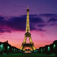 Paris - Eiffel Tower - Switzerland - Geneva - Jungfraujoch