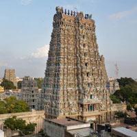 Chennai - Kancheepuram - Mahabalipuram - Thiruvannamalai - Pondicherry - Chidambaram - Tanjore - Trichy - Madurai - Kanyakumari - Trivandrum