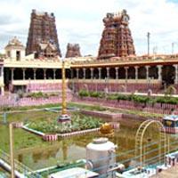 Tiruthani - Tirupathi - Tiruchanur - Bangalore - Hosur - Mysore - Mudumalai Wild life Sanctuary - Ooty - Marudhamalai - Coimbatore - Guruvayur - Cochin - Kovalam - Tiruvandrum - Suchindram - Kanyakumari - Tiruchendur - Rameswaram - Tiruparankundram - Madurai - Palani - Trichy - Thanjavur - Swamimalai - Poompuhar - Chidambaram - Pondicherry - Mamallapuram - Kancheepuram - Chennai