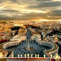 Rome - Pisa - Padova - Innsbruck - Switzerland - Paris - Amsterdam - London