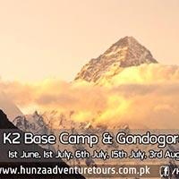 Islamabad - Skardu - Shigar - Braldu - Baltoro Glacier - Concordia - K2 - Broad Peak - Gondogoro La - Hushe - Khaplu - Karakoram Highway