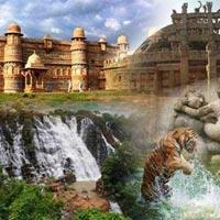 Gwalior - Shivpuri - Orchha - Khajuraho - Bandhavgarh - Jabalpur - Pachmarhi - Bhopal - Sanchi