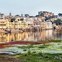New Delhi - Jaipur - Shekhawati - Bikaner - Jaisalmer - Jodhpur - Ranakpur - Mount Abu - Udaipur - Ajmer - Pushkar - Sariska - Fatehpur - Varanasi - Lucknow - Agra