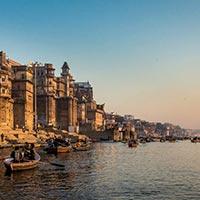 Varanasi - Gaya - Allahabad - Chitrakoot - Ayodhya - Naimi Sarnya - Lucknow - Agra - Mathura - Vrindavan - New Delhi - Haridwar - Rishikesh