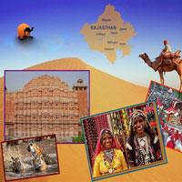 Jaipur - Bikaner - Jaisalmer - Jodhpur - Udaipur