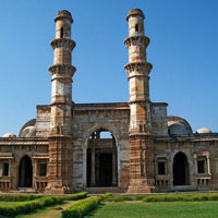 Ahmedabad - Bhavnagar - Gondal - Patan - Chota Udaipur - Baroda