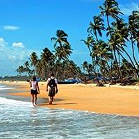 Chennai - Mahabalipuram - Kanchipuram - Tanjore - Madurai - Trichy - Goa