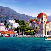 Athens - Aegina - Poros - Hydra - Delphi