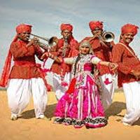 Delhi - Nawalgar - Bikaner- Jaisalmer - Jodhpur - Luni - Udaipur - Deogarh - Pushkar - Jaipur - Agra - Delhi