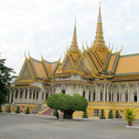 Phnom Penh - Kompong Cham - Kompong Thom - Siem Reap - Battambang - Takeo - Saigon