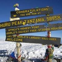 Namanga - Marangu Moshi  - MtiMkubwa Camp  - Shira 2 Camp - Barranco Hut - Karanga Hut - Barafu Hut - Mweka Hut - Moshi - Namanga - Kilimanjaro