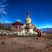 Paro - Thimphu - Punakha - Wangdue Phodrang