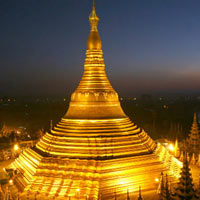 Yangon  - Golden Rock
