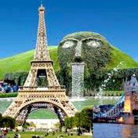 Paris - Switzerland - Italy