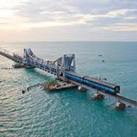 Chennai - Kanchipuram - Mahabalipuram - Pondicherry - Thanjavur - Trichy - Madurai - Rameswaram - Madurai - Chennai