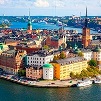 Moscow - Kremlin - St. Petersburg Guided City - Catherine Palace - Helsinki - Stockholm - Skansen - Bergen - Gudvangen - Oslo - Malmö - Copenhagen