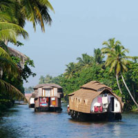 Alappuzha Houseboat, Veegaland Theme Park Cochin