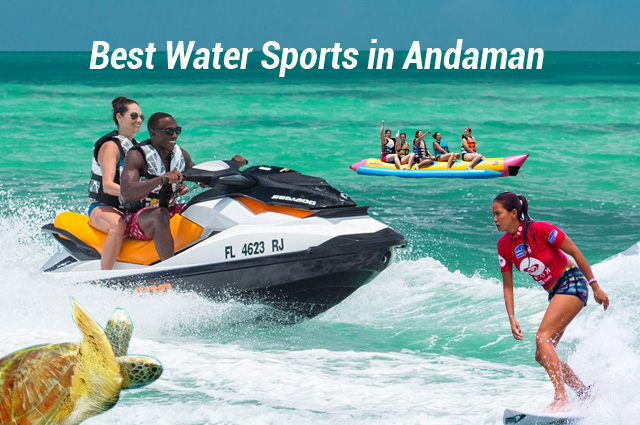 Thrilling Water Sports in Andaman