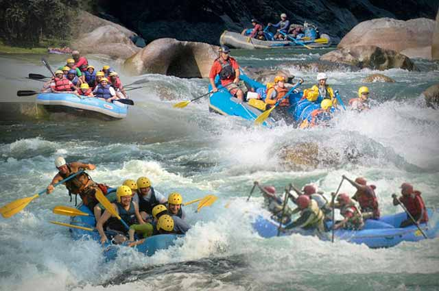 15 Best Destinations for River Rafting In India