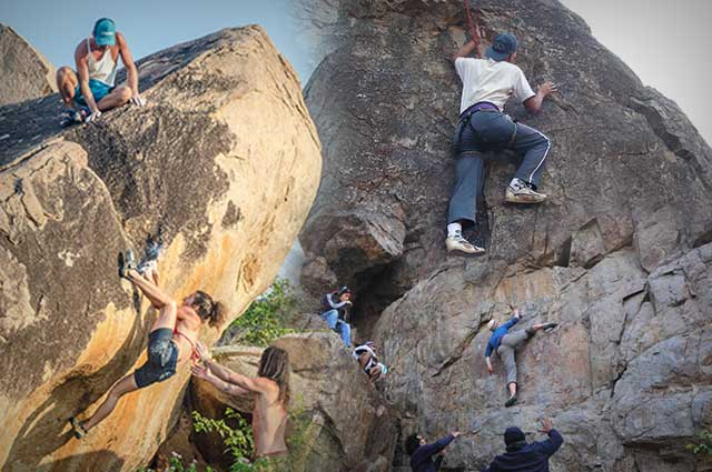 5 Fabulous Destinations for Rock Climbing in India