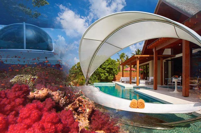 8 Coolest Underwater Hotels Around The World