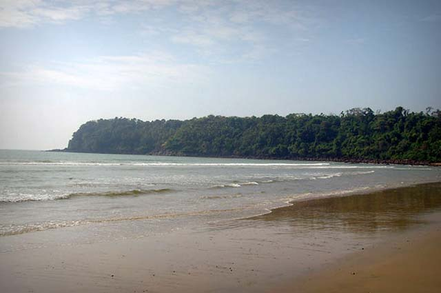 Agonda Beach is one of the famous beach in India