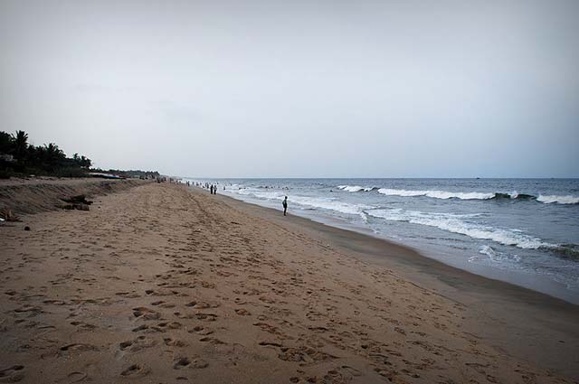 Auroville Beach is one among Pondicherry's top beaches