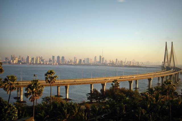 Bandra-Worli Sea Link amazing view for tourist who visited places in mumbai