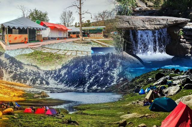 Camp Away In The Hills of Dharamshala
