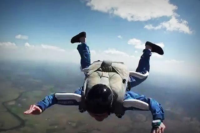 Dessa is one the famous places for skydiving In India