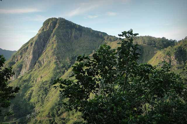 Ella Rock is a renowned trekking destination in Sri Lanka