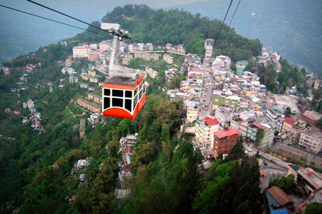 Gangtok is one of the most popular place in Sikkim