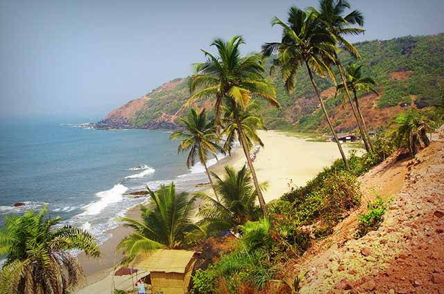 Goa is one of the famous vacation spot in India