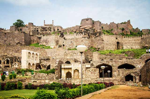 Golkonda is one of the famous places to visit in hyderabad
