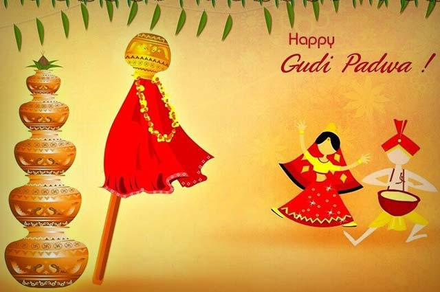 Gudi Padwa-8th April-New Year Day in Maharashtra and Konkan