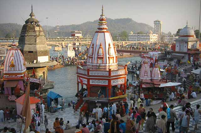 Har Ki Pauri is a popular and a frequented ghat located in Haridwar