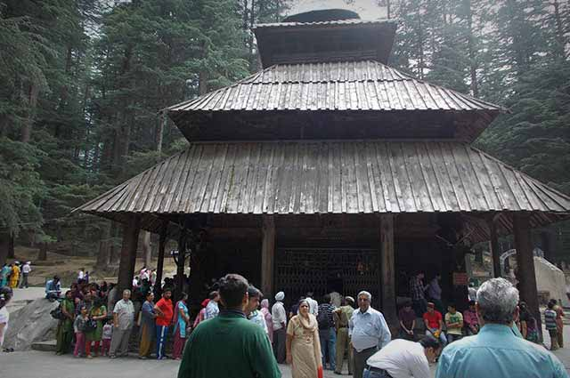 Hidimba Devi Temple is most popular place to visit in Manali
