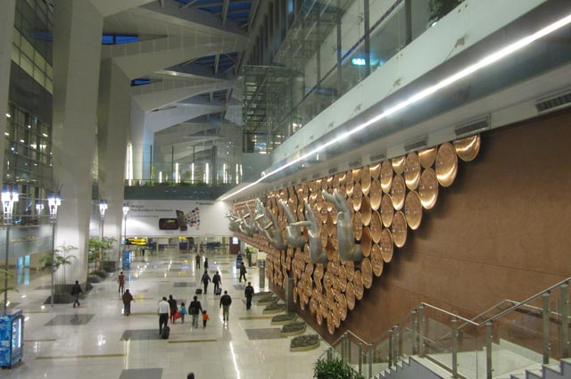 Indira Gandhi International Airport is one of the famous airport in India