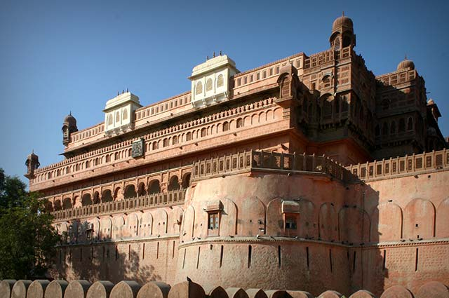 Junagarh Fort is must visit place in the city of bikaner