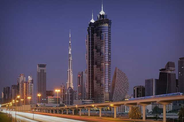 JW Marriott Marquis Dubai is one of the tallest hotel in Dubai