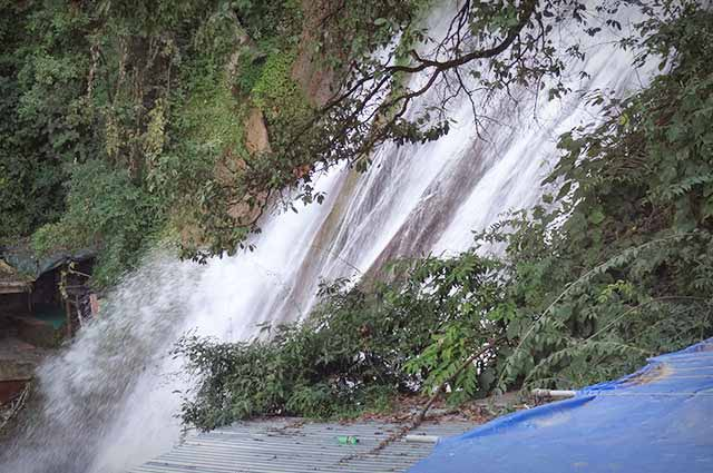 Kempty Falls is well known travel attraction in Mussoorie